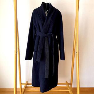 ダブルスタンダードクロージング(DOUBLE STANDARD CLOTHING)のソブ Sov.  リバーシブル イタリア製生地使用 ウール コート(ロングコート)