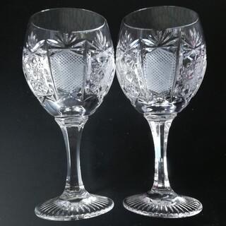 ナハトマン(Nachtmann)のナハトマン リードクリスタル ペアワイングラス他計3点で(グラス/カップ)