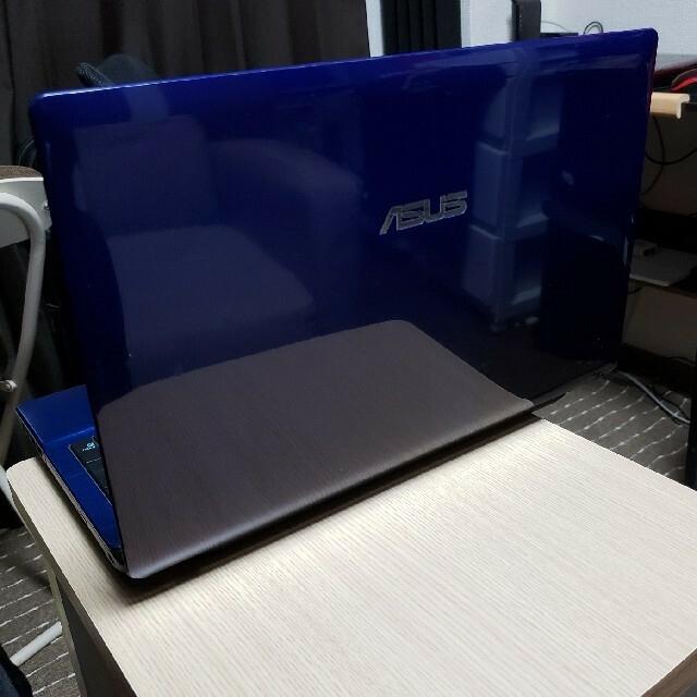 ASUS(エイスース)のASUS ノートパソコン CORE I 5  15インチTFT液晶ワイド スマホ/家電/カメラのPC/タブレット(ノートPC)の商品写真
