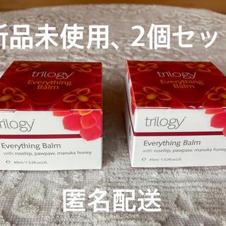 トリロジー(trilogy)の❇️トリロジーエブリシングバーム45ml  新品未使用、2個セット(フェイスオイル/バーム)