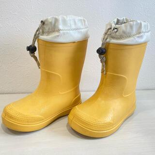 ムジルシリョウヒン(MUJI (無印良品))の無印良品 キッズ 長靴 レインブーツ 18-19cm(長靴/レインシューズ)