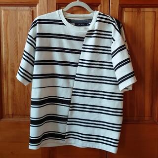 レイジブルー(RAGEBLUE)の半袖ボーダーTシャツ、長袖スエット(Tシャツ/カットソー(七分/長袖))