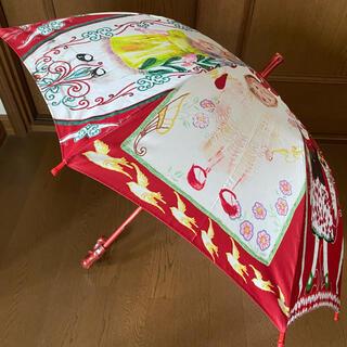 未使用 レトロ柄 傘(傘)