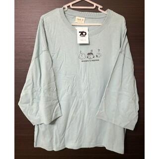 スヌーピー(SNOOPY)の新品タグ付き。サンリオ:スヌーピー・Tシャツ 55(Tシャツ(半袖/袖なし))