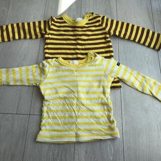 ブリーズ(BREEZE)のブリーズBREEZE キッズボーダーロンT 2枚セット 80(Tシャツ)