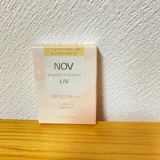 ノブ(NOV)のノブ パウダリーファンデーション  ピンクオークル10. (ファンデーション)