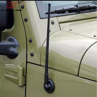 ジープ(Jeep)のJK JL ラングラー ショートアンテナ(車外アクセサリ)