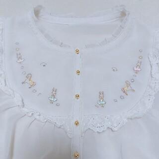 フランシュリッペ(franche lippee)の刺繍ブラウス 1(シャツ/ブラウス(半袖/袖なし))