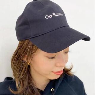ドゥーズィエムクラス(DEUXIEME CLASSE)のAMERICANA/アメリカーナ】 City runner CAP(キャップ)