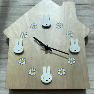 スタディオクリップ(STUDIO CLIP)のミッフィー 時計(掛時計/柱時計)