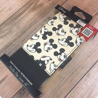 ミッキーマウス(ミッキーマウス)のミッキー フリップカバー 多機種対応 M+サイズ(iPhoneケース)