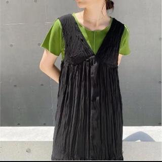 カスタネ(Kastane)のkastane ヘンケイサカリバパイピングTee(Tシャツ(半袖/袖なし))