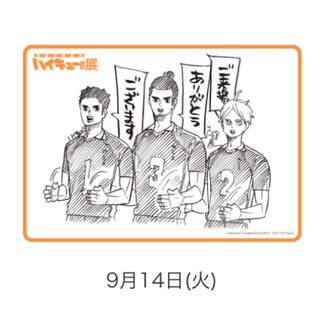ハイキュー展 チケット 大阪 14日(声優/アニメ)
