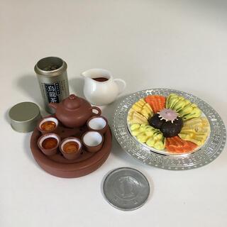 中古 ミニチュア 海洋堂 中国宮廷料理フィギュアコレクション「満漢全席」①