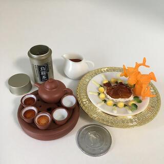 中古 ミニチュア 海洋堂 中国宮廷料理フィギュアコレクション「満漢全席」②