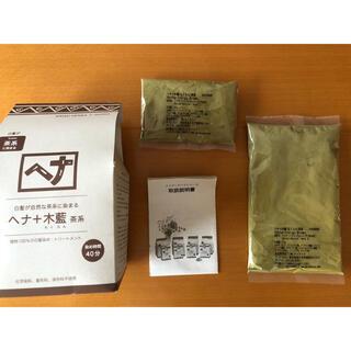 ナイアード(naiad)のナイアード ヘナ ヘナ+木藍(もくらん) 茶系 100g×1袋 おまけ40g(白髪染め)