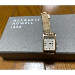マーガレットハウエル(MARGARET HOWELL)のMARGARET HOWELL idea 腕時計 ピンクゴールド(腕時計)