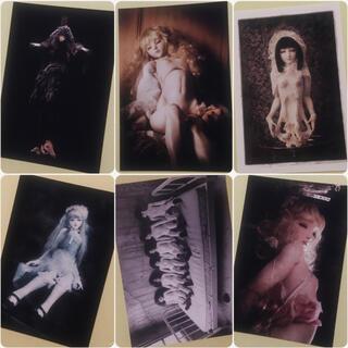 【銀座のギャラリーにて購入】球体関節人形 ドール ポストカード はがき アート(印刷物)
