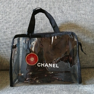 CHANEL - CHANEL 保存袋+チャーム+クリアバッグ(ノーブランド)