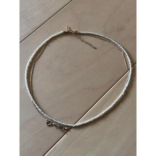 カオル(KAORU)のKAORU パール2連ネックレス(ネックレス)