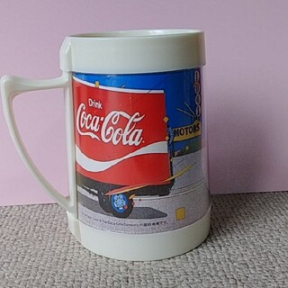 コカコーラ(コカ・コーラ)のコカ・コーラ レトロマグカップ(グラス/カップ)