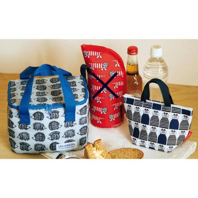 Lisa Larson(リサラーソン)の未使用 リサラーソン 保冷バッグ インテリア/住まい/日用品のキッチン/食器(弁当用品)の商品写真