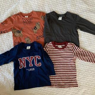 エイチアンドエム(H&M)のH&M 長袖 Tシャツ 4枚 サイズ 70 / 80(Tシャツ)