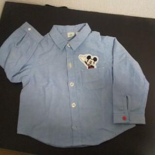 ディズニー(Disney)のミッキーシャツ 80cm(シャツ/カットソー)