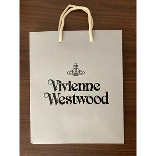 ヴィヴィアンウエストウッド(Vivienne Westwood)のヴィヴィアン ウエストウッド ショッパー ショップ袋 カラー グレー(ショップ袋)