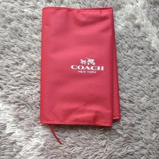 コーチ(COACH)のブックカバー コーチ ポケット付き(ブックカバー)