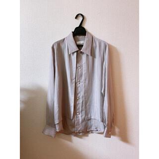 サンシー(SUNSEA)のエトセンス ETHOSENS レイヤードシャツ(シャツ)
