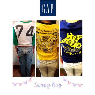 ギャップ(GAP)のGAP★レディース、メンズ、キッズ、着用できますTシャツ3枚セット❤︎(Tシャツ(半袖/袖なし))