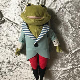 イケア(IKEA)のIKEA カエルのぬいぐるみ 未使用 蛙(ぬいぐるみ)