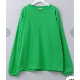 ビューティアンドユースユナイテッドアローズ(BEAUTY&YOUTH UNITED ARROWS)の6 roku(ロク) 2021SS新作 完売ロングスリーブTシャツ 36サイズ(Tシャツ(長袖/七分))