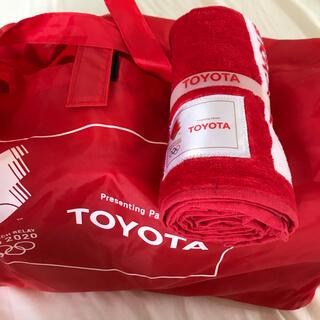 トヨタ(トヨタ)のオリンピック2020 タオル(タオル/バス用品)
