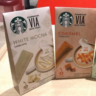 Starbucks Coffee - スターバックス VIA 3種類《ホワイト,ほうじ茶,抹茶》