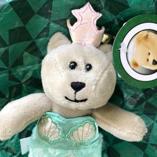 Starbucks Coffee - ★完売★ スターバックス マーメイド  ミニ ベアリスタ  キーホルダー