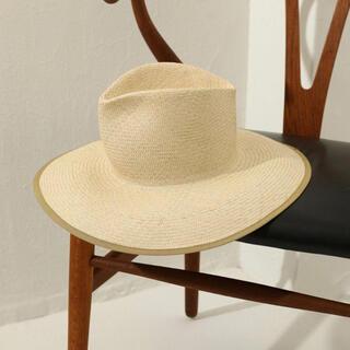 トゥデイフル(TODAYFUL)のTODAYFUL Panama Brim Hat ハット 帽子 麦わら帽子(麦わら帽子/ストローハット)