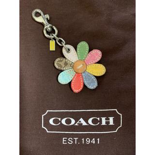 コーチ(COACH)のcoachバッグチャーム キーホルダー フラワー(バッグチャーム)