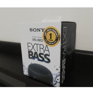 SONY - SONY ワイヤレスポータブルスピーカーSRS-XB12 ブラック