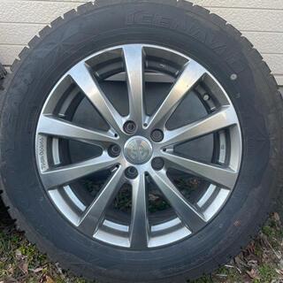 Goodyear - 【8-9分山】VW スタッドレスタイヤ ホイール 4本