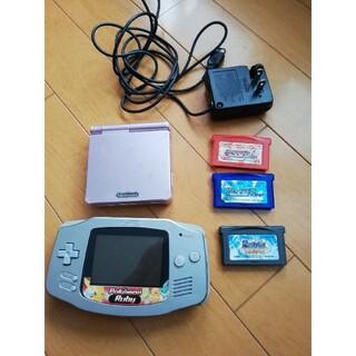 ニンテンドウ(任天堂)のゲームボーイとソフト ジャンク(携帯用ゲーム機本体)
