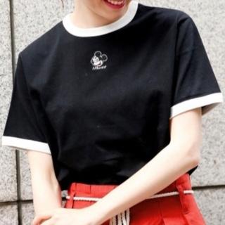 ヘザー(heather)のヘザー heather ミッキー mickey tシャツ ティーシャツ(Tシャツ(半袖/袖なし))