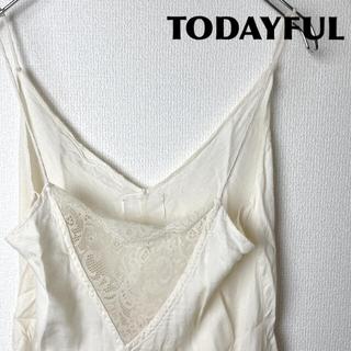 トゥデイフル(TODAYFUL)のTODAYFUL/レースキャミソール(キャミソール)