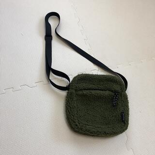 サマンサモスモス(SM2)のSMSショルダーバック冬用 グリーン(ショルダーバッグ)