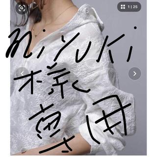 アンティカ(antiqua)のantiqua アンティカ 美品シャツ(シャツ/ブラウス(長袖/七分))