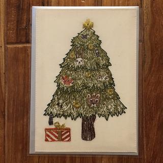 H.P.FRANCE - Coral&Tusk コーラルアンドタスク  クリスマスツリー ポストカード