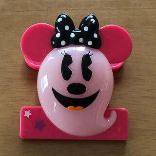 ディズニー(Disney)のハロウィン ミニーちゃん マグネット クリップ おばけ(キャラクターグッズ)