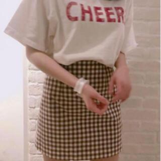 スナイデル(snidel)の⋆⸜SNIDEL ビックロゴTシャツ ホワイト⸝⋆(Tシャツ(半袖/袖なし))