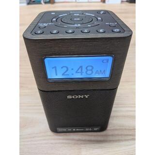 ソニー(SONY)のSony  FM/AMホームラジオ SRF-V1BT(B)(ラジオ)